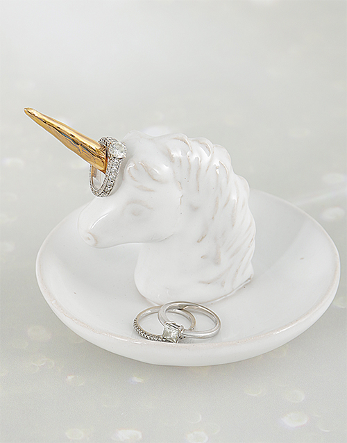 apparel: Unicorn Jewellery Ceramic Holder!
