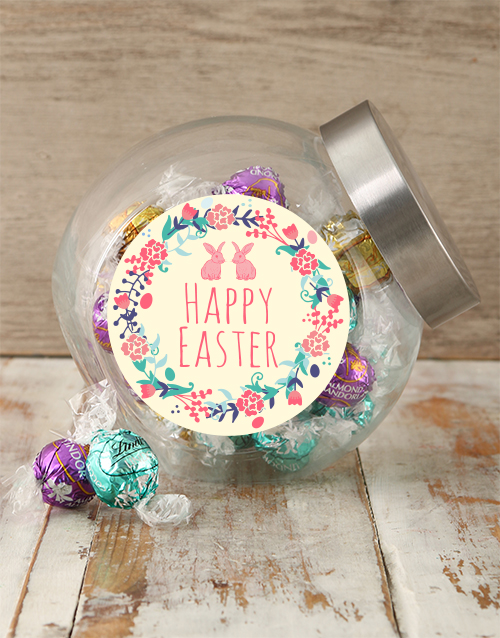 easter: Happy Easter Candy Jar!