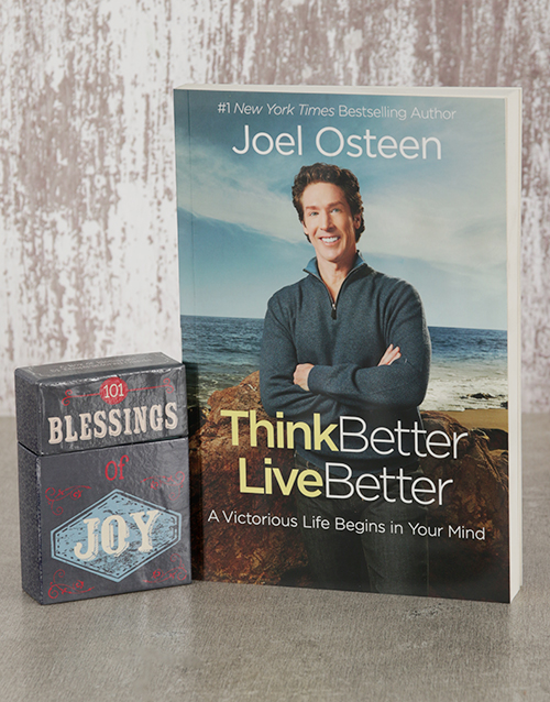 faith: Think Better Live Better Book and Blessings Cards!