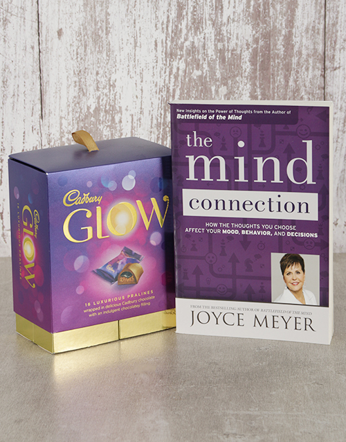 gifts: The Mind Connection Book and Cadbury Glow!
