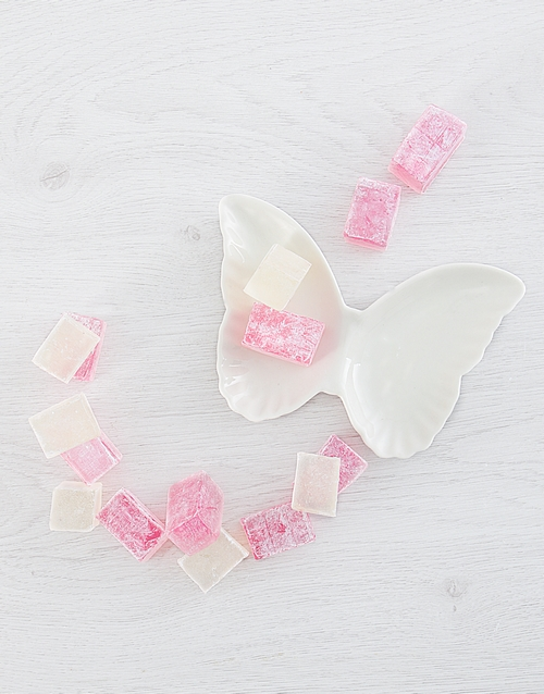 mothers-day: Soap and Butterfly Tray Gift Set!