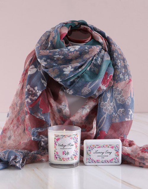 mothers-day: Pamper Box and Scarf Gift!