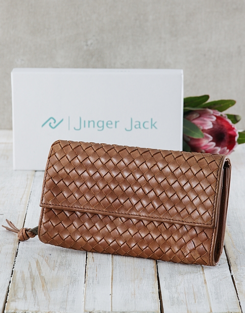 personalised: Jinger Jack Tan Lucie Ladies Purse !