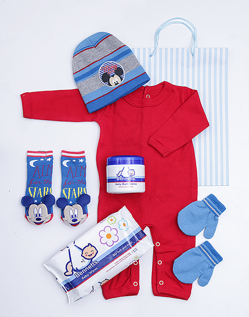 baby: Mickey Mouse Gift Set!
