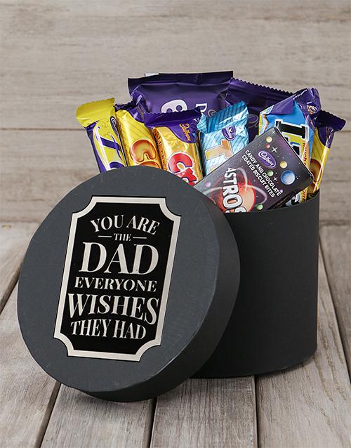 fathers-day: Wishful Dad Choc Hat Box!