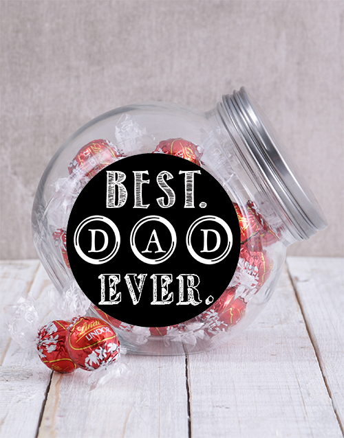fathers-day: Best Dad Ever Candy Jar!