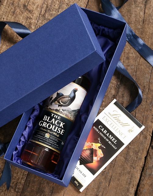 birthday: Blue Box of Black Grouse!