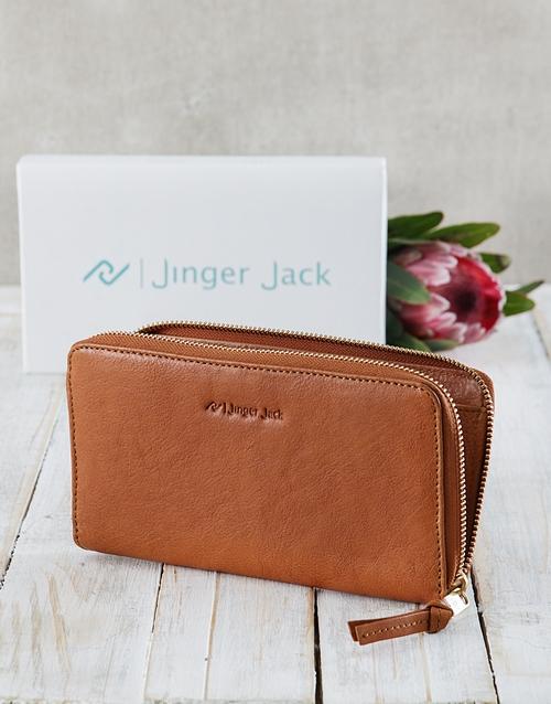 corporate: Caramel Jinger Jack Jordan Ladies Purse!