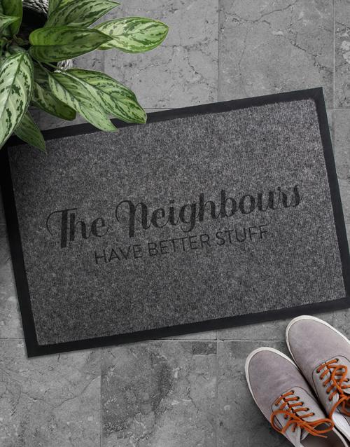 home-decor: The Neighbours Doormat!