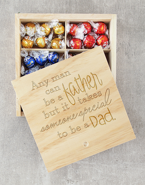 fathers-day: Special Dad Lindt Tray!