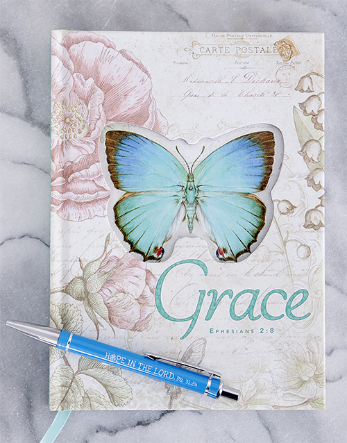 grandparents-day: Grace Journal and Scribbler!