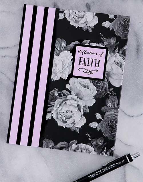 mothers-day: Faith Notebook and Pen Hamper!