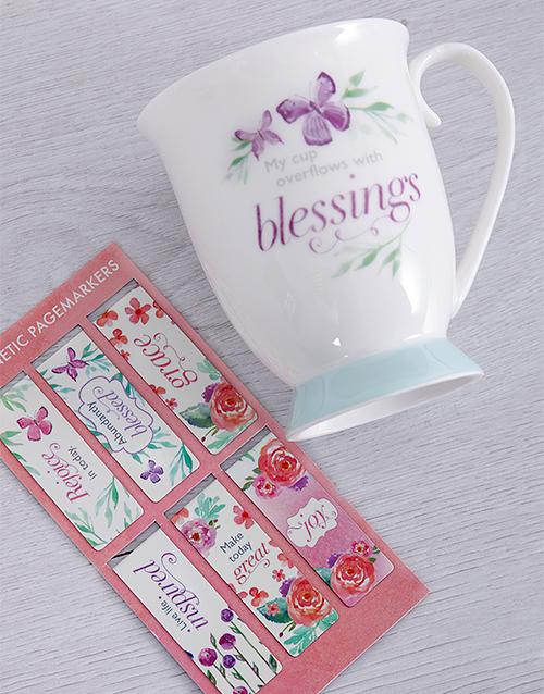 mothers-day: Blessings Mug Hamper!