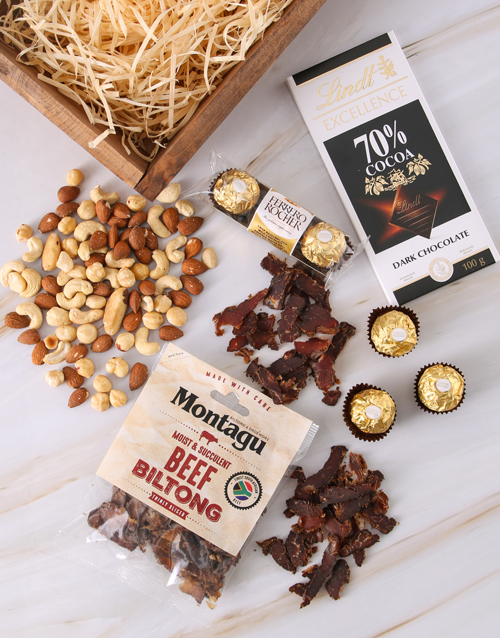 birthday: Nutty Biltong Luxury Crate!