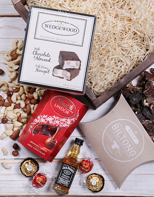christmas: Jack Daniels and Nougat Square Crate!