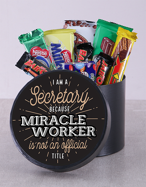 prices: Miracle Worker Chocolate Hat Box!