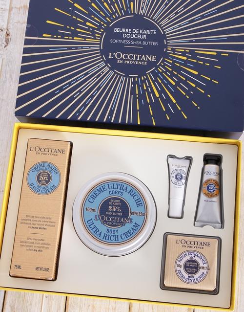 bath-and-body: LOccitane Shea Butter Gift Box!
