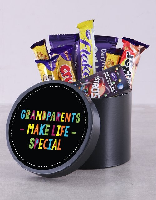 grandparents-day: Grandparents Make Life Special Choc Hat Box!