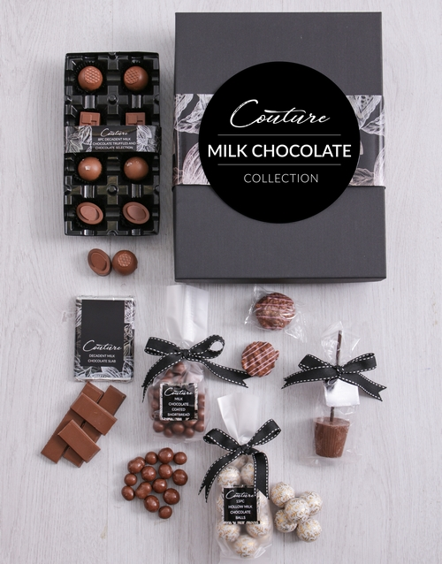 chocolate: Small Milk Chocolate Couture Box!