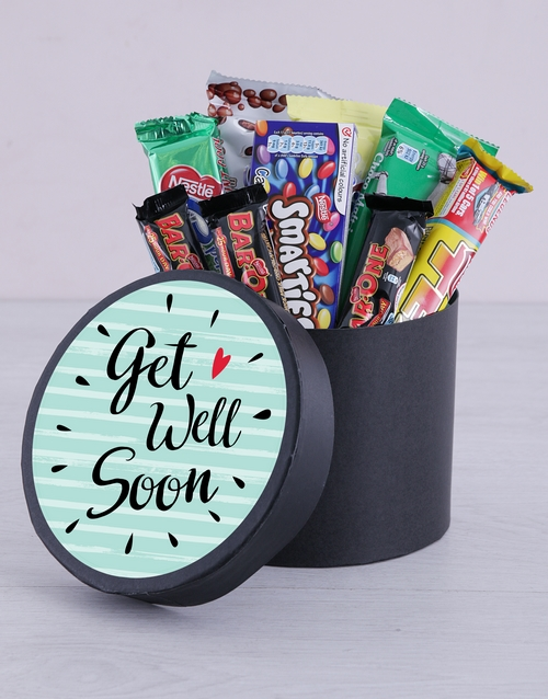 chocolate: Get Well Soon Hat Box!