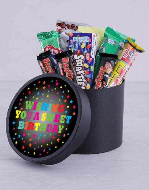 birthday: Sweet Birthday Hat Box!