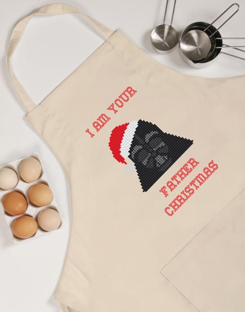 christmas: Star Wars Father Christmas Apron!
