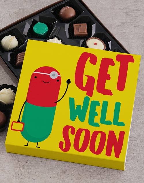 get-well: Get Well Soon Choc Tray!