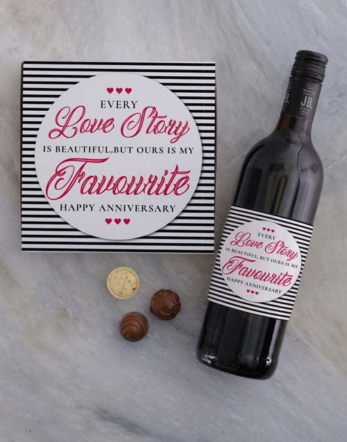 anniversary: Anniversary Love Story Choc Tray!