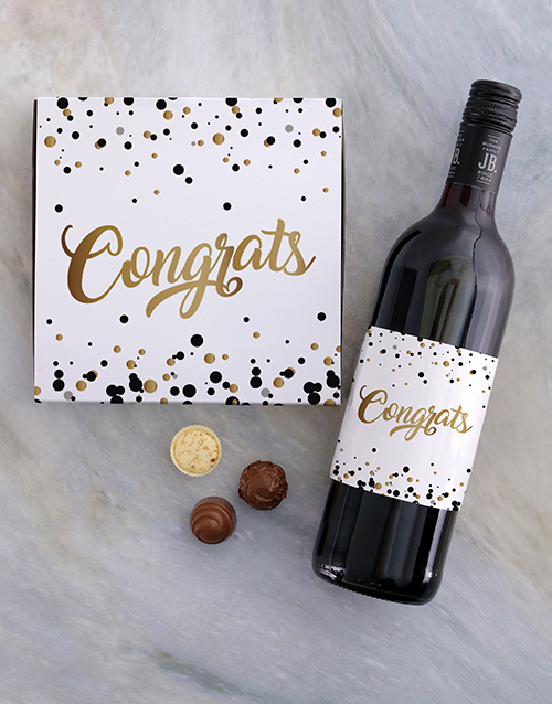 prices: Golden Congrats Choc Tray!