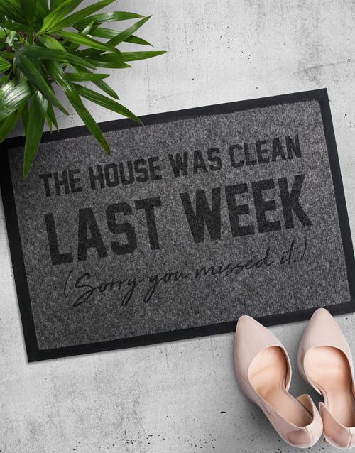 home-decor: House Was Clean Doormat!
