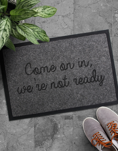 gifts: Come On In Doormat!