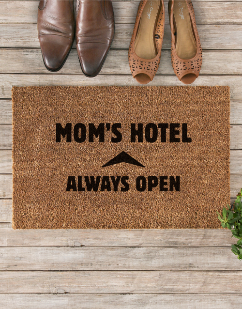 mothers-day: Moms Hotel Doormat!