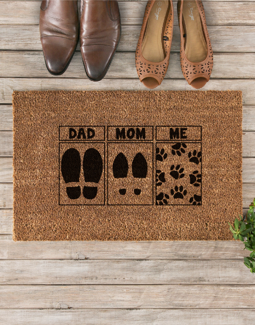 mothers-day:  Pet Mom Doormat!