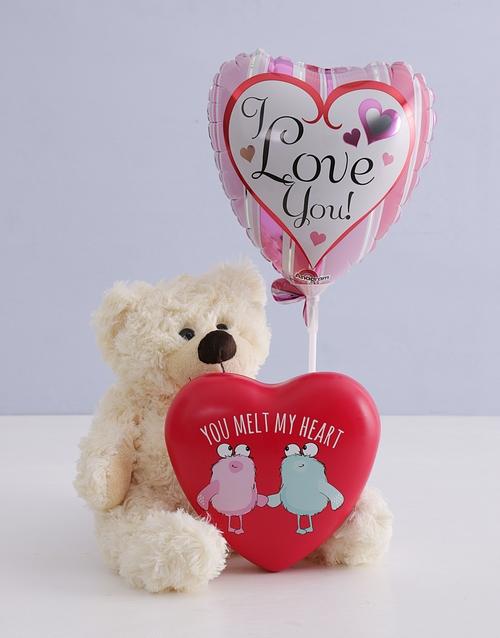 teddy-bears: Melt My Heart Teddy and Heart Tin!