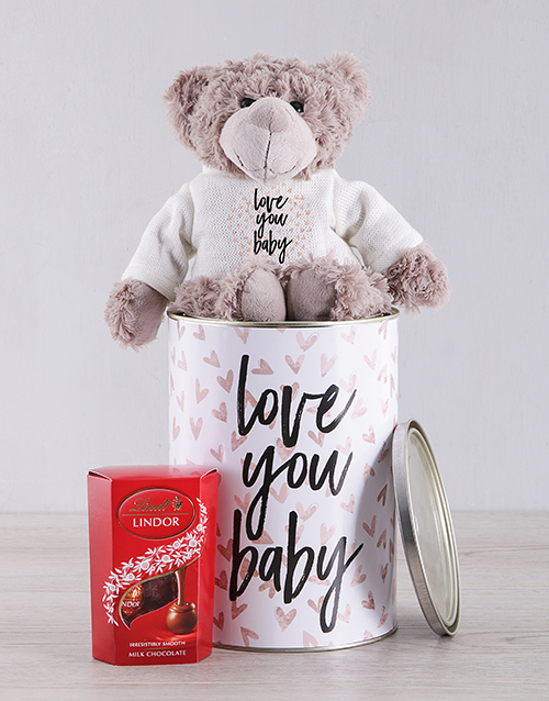 teddy-bears: I Love You Teddy and Lindt!