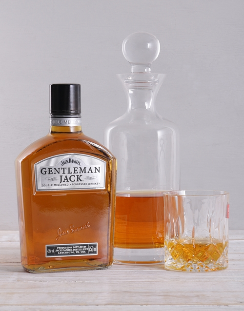 year-end: Gentleman Jack and Decanter Hamper!