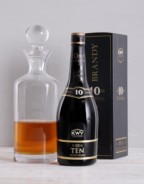 fine-alcohol: KWV 10yr and Decanter Gift!