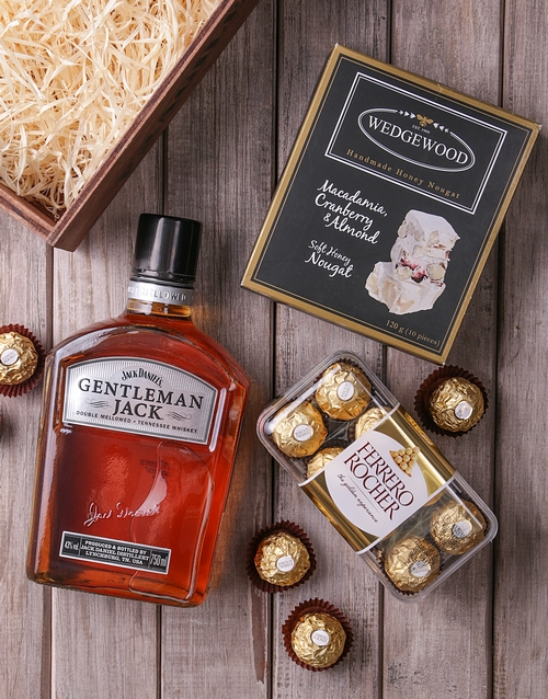 birthday: Gentleman Jack Gourmet Crate!