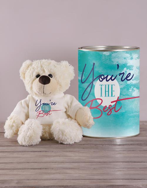 teddy-bears: Best Teddy in a Tin!
