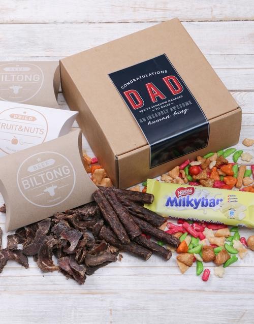 fathers-day: Congrats Dad Biltong Box!