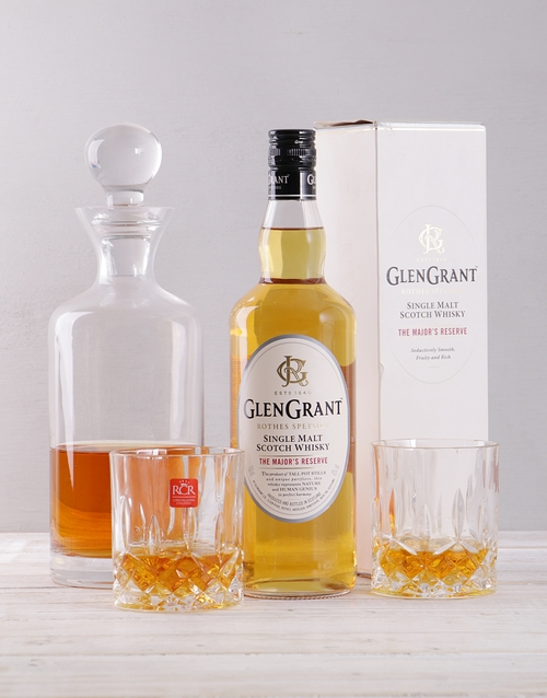 fathers-day: Glen Grant and Decanter Giftbox!