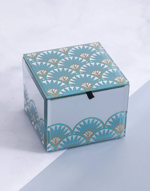 gifts: Glam Mirror Trinket Box Small Square!