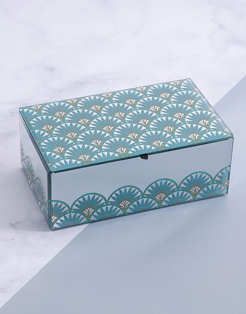 apparel: Glam Mirror Trinket Box Large!