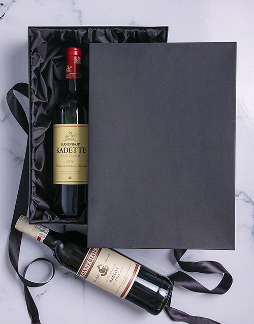 valentines-day: Classic Red Wine Duo Giftbox!