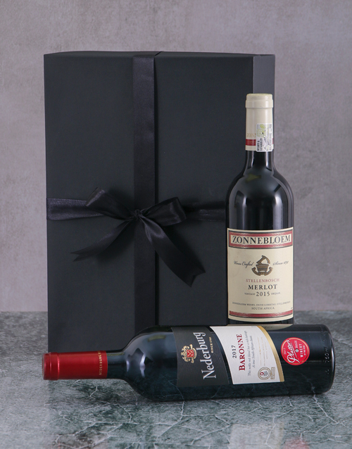 valentines-day: Red Wine Duo Giftbox!