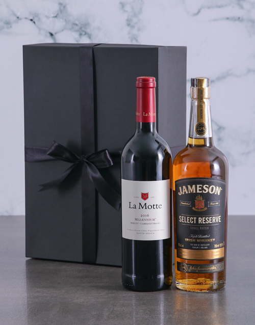 year-end: Wine and Whiskey Duo Giftbox!