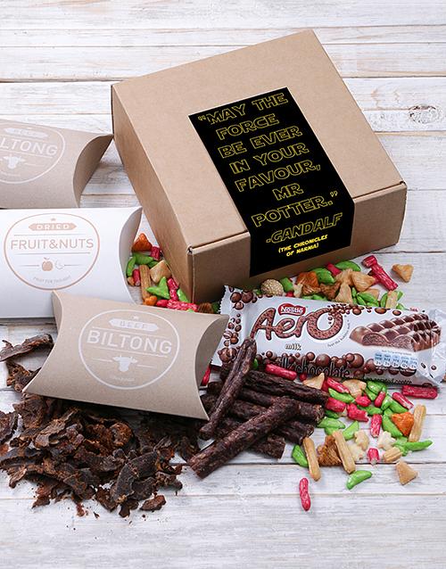 gourmet: Fandom Combined Biltong Box!