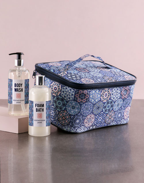 personalised: Large Blue Marakesh Vanity!