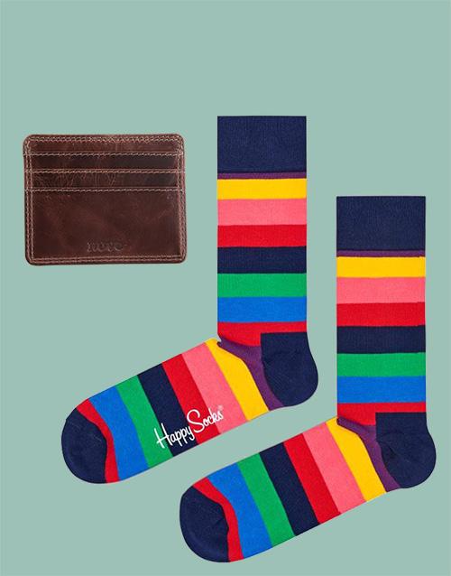 birthday: Happy Socks and Cardholder!