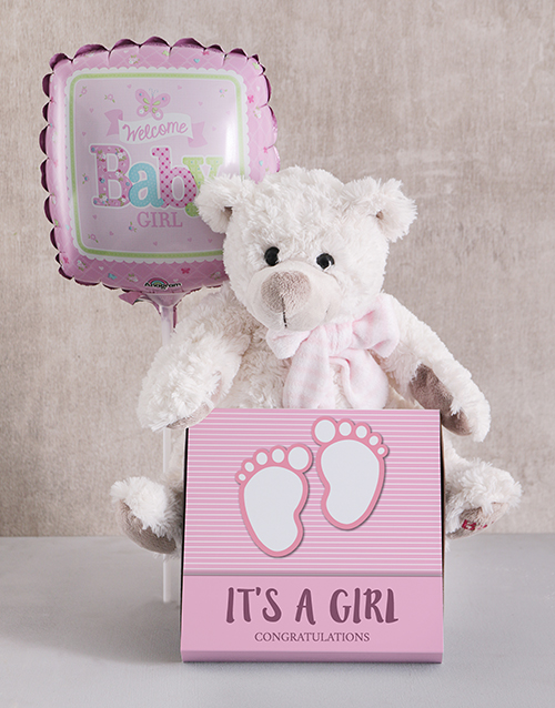 teddy-bears: Baby Girl Teddy Bundle!